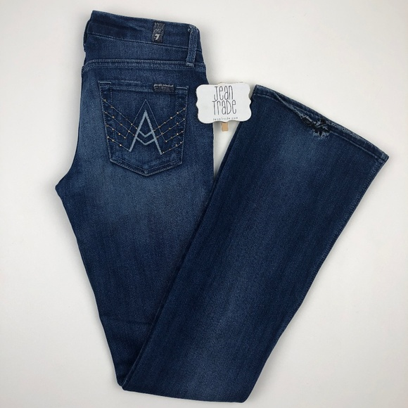 7 For All Mankind Denim - 7 for all mankind A Pocket Bootcut Jean